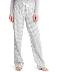 J.Crew | J.crew Grey Gingham Pyjama Trousers | Lyst