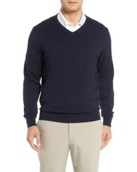 Cutter & Buck - Lakemont V-neck Sweater - Lyst