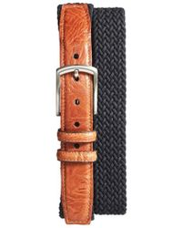 Torino Leather Company - Braided Stretch Cotton Belt - Lyst