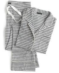 J.Crew | J.crew Dreamy Stripe Pyjamas | Lyst