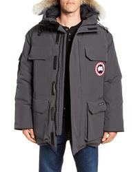434dcb67ac14 Canada Goose - Pbi Expedition Regular Fit Down Parka With Genuine Coyote  Fur Trim - Lyst