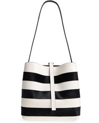 Proenza Schouler - Frame Patchwork Pieced Leather And Genuine Calf Hair Shoulder Bag - Lyst