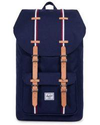 Herschel Supply Co. - Little America Offset Stripe Backpack - Lyst