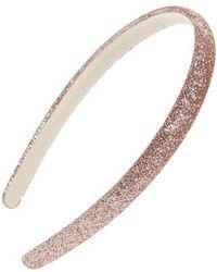 Cara - Glitter Slim Headband - Lyst