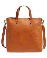 Madewell - The Transport Leather Crossbody Bag - Lyst