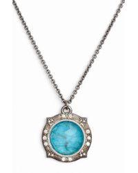 Armenta - New World Apatite Pendant Necklace - Lyst