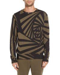 Twenty - Spiral Crewneck Sweater - Lyst