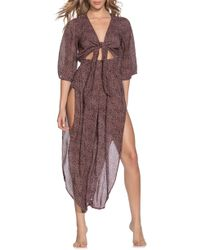 Maaji - Tamarind Cutout Cover-up Jumpsuit - Lyst