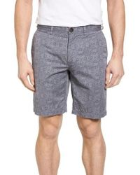 Surfside Supply - Flat Front Mandala Print Shorts - Lyst