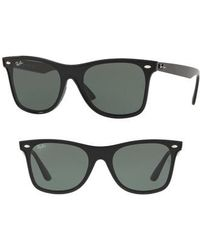 Ray-Ban - Blaze 41mm Wayfarer Sunglasses - Lyst