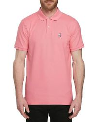 Psycho Bunny - Classic Pique Polo - Lyst