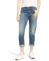 AG Jeans - The Ex-boyfriend Ankle Slim Jeans - Lyst
