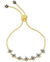 Freida Rothman - Adjustable Clover Bracelet - Lyst
