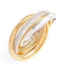 Nadri - Trinity Pave Ring - Lyst