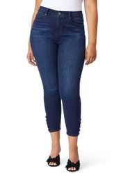 REBEL WILSON X ANGELS - The Pin-up Crop Skinny Jeans - Lyst