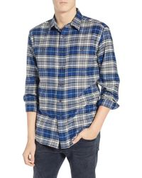 81baec5ee63e Lyst - Tommy Hilfiger Hawthorne Plaid Long-sleeve Shirt in Red for Men