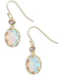 Melinda Maria - Alyssa Opal Drop Earrings - Lyst