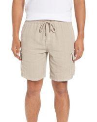 Vilebrequin | Vilbrequin Linen Cargo Shorts | Lyst