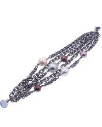 Nakamol - Freshwater Pearl & Imitation Pearl Magnetic Bracelet - Lyst