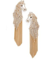 Kate Spade - Horse Statement Earrings - Lyst
