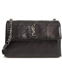 Saint Laurent - West Hollywood Patchwork Leather Shoulder Bag - - Lyst