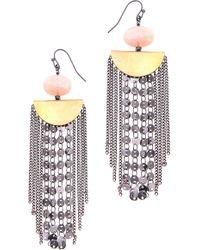 Nakamol - Barba Tassel Earrings - Lyst