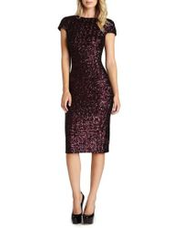 Dress the Population | 'marcella' Open Back Sequin Body-con Dress | Lyst