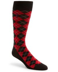 Cole Haan - Pinch Argyle Socks - Lyst