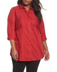 Foxcroft | Gina Holiday Stripe Shirt | Lyst