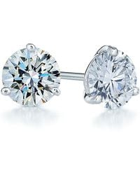 Kwiat - 1.50ct Tw Diamond & Platinum Stud Earrings - Lyst