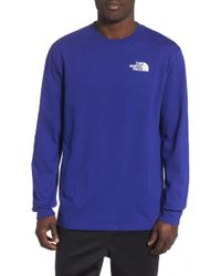 The North Face - '92 Rage Collection Red Box Heavyweight Crewneck Sweatshirt - Lyst