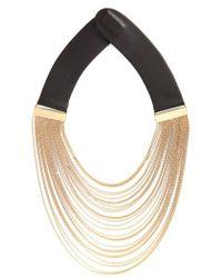Fairchild Baldwin - Multistrand Chain Collar Necklace - Lyst