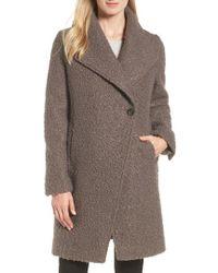 Tahari - Sheila Boucle Knit Coat - Lyst