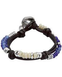 Uno De 50 - Freedom Vibes Crystal Beaded Bracelet - Lyst