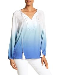 Macbeth Collection - Dip Dye Ombre Blouse - Lyst