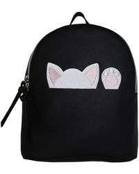 T-Shirt & Jeans - Peeking Cat Backpack - Lyst