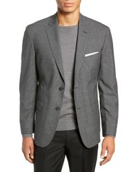 John W. Nordstrom - (r) Traditional Fit Check Wool Sport Coat - Lyst