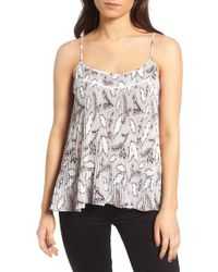 Chelsea28 - Pleated Camisole - Lyst