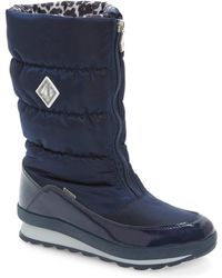 Jog Dog - Waterproof Zip-up Channel Quilted Boot - Lyst