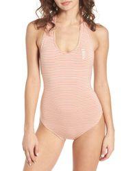 Obey - Luna Bodysuit In Pink - Lyst