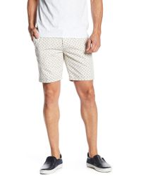 Scotch & Soda - Herringbone Quality Shorts - Lyst
