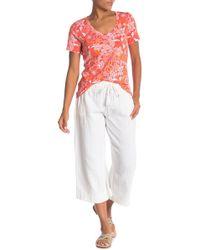 Tommy Bahama - Playa Gauze Easy Crop Pants - Lyst