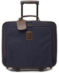 "Longchamp - 14"" Wheeled Briefcase - Lyst"