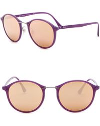 ea0c8d32660 Lyst - Tom Ford Shield Sunglasses Tf559 Porfirio-02 53e Light Havana ...