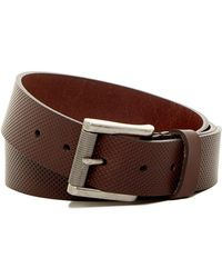 1901 - Pin Dot Roller Buckle Leather Belt - Lyst