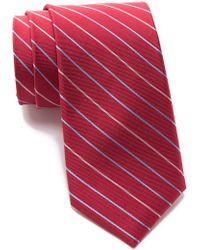 Tommy Hilfiger - Silk Thin Stripe Tie - Lyst