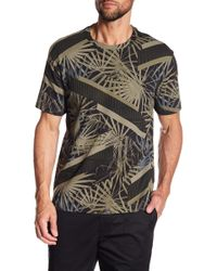Kenneth Cole - Palm Crew Neck Tee - Lyst