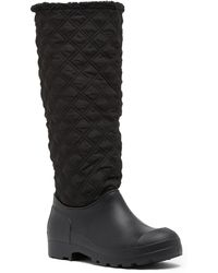 Dirty Laundry - Pampered Quilted Coldweather Faux Fur Boot - Lyst