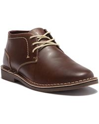 Kenneth Cole Reaction - Desert Sun Leather Chukka Boot - Wide Width Available - Lyst