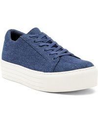 Kenneth Cole - Abbey Platform Sneaker - Lyst